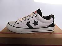 Кеды женские Converse белые с черным (конверсы)(р.36) 2707fa21a8849