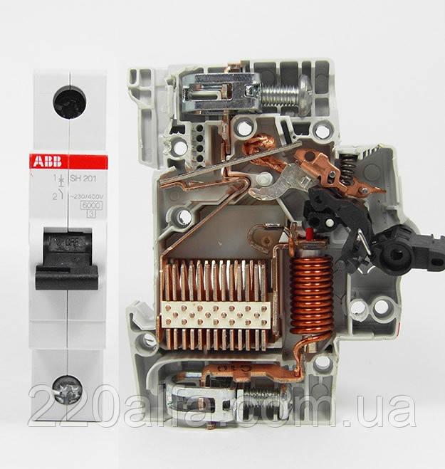 Автоматический выключатель ABB SH 201-B 6