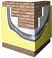 Утепление фасада пенопластом плотностью 25М толщиной 100 мм
