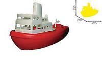 Баркас игрушка 205х250х350мм. 542