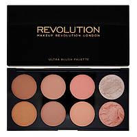 Румяна Makeup Revolution Ultra Blush and Contour Palette Hot Spice