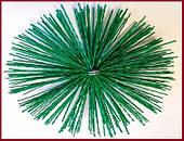 Щётка-ёрш пластиковая для чистки дымохода от сажи ∅250мм