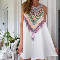Легкое летнее мини платье