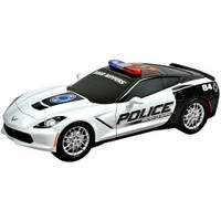 "Toy State Полицейская машина Chevy Corvette C7 ""Protect&Serve"""
