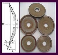 Круги алмазные шлифовальные тарельчатые 12R4. А.ПИЛ(12R4) 125х3х2х13х32
