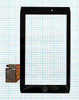 Тачскрин сенсорное стекло для Acer Iconia Tab A100 Black
