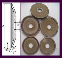 Круг алмазный (тар.) 12А2-20 АТ 125х10х2х16х32. Алмаз полировальный - тарелка