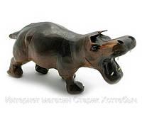 Фигурка бегемот кожа код 18688