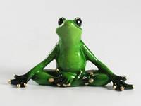 "Статуэтка ""Лягушка Йога медитация"""