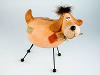 Статуэтка Собака керамика