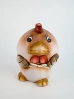 Фигурка Цыпленок керамиука