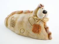 Статуэтка Собака из керамики