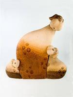 Керамическая фигурка Коровы семья