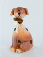 Копилка Собака керамика