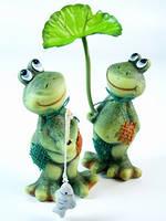 Фигурка Лягушки керамика