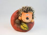 Статуэтка Еж на яблоке