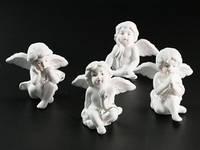 Статуэтки Ангелы набор фарфоровые