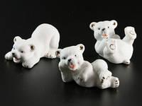 Фигурки Медведи фарфор