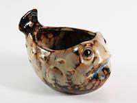 Фигурка Кит керамика