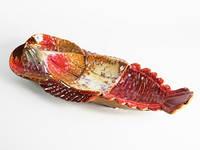 Блюдо керамика Рак