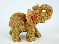 Фигурка Слон из яшмы