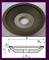 Чашки алмазные (АЧК). АЧК(12А2-45°) 125х10х3х40х32