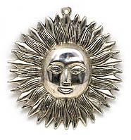Панно Солнце металл