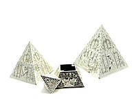 Шкатулки Пирамиды металл (н-р 3 шт)