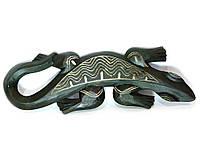 Статуэтка Геккон деревянный