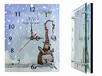 Часы настенные из стекла Год овцы