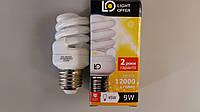 Лампа энергосберегающая LightOffer 9W E27 4000K