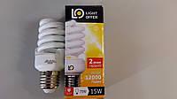 Лампа энергосберегающая LightOffer 15W E27 4000K