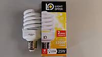 Лампа энергосберегающая LightOffer 25W E27 4000K