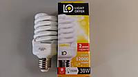 Лампа энергосберегающая LightOffer 30W E27 4000K
