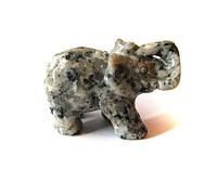 Статуэтка слоник кварц