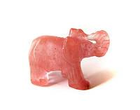 Фигурка слоник кварц