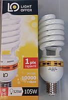 Лампа энергосберегающая LightOffer 105W E40 5000K