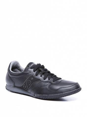 Кроссовки Saucony черные кожаные, фото 2