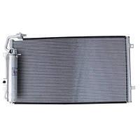 Радиатор, конденсатор с ресивером кондиционера ВАЗ 2170, ВАЗ 2171, ВАЗ 2172 Приора Halla (Корея)