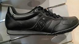 Кроссовки Saucony черные кожаные, фото 3