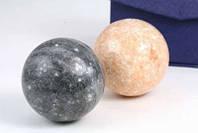 Шары для массажа каменные набор 2 шт