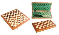 Шашки настольные деревянные Intarsia