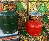 Газовый баллон с горелкой пикник  5л, фото 3