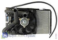 Радиатор Panasonic ВАЗ 2170, 2171, 2172 Приора охлаждения кондиционера основной в сборе ДААЗ