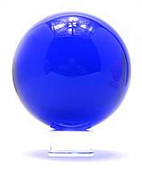 Шар хрустальный синий