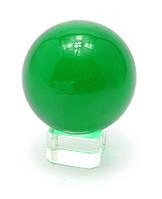 Шар на подставке зеленый