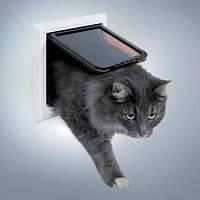 Дверца для крупных кошек 4 позиции Trixie 3867