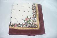 Платок головной под шелк (коричневый)