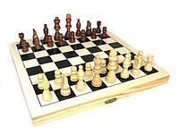 Шахматы деревянные с нардами