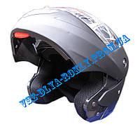Шлем-трансформер BLD-157 черный матовый